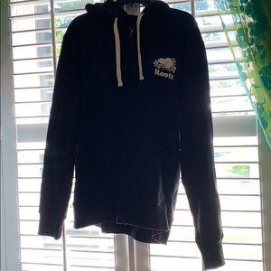 Black Roots Zip Up Sweatshirt